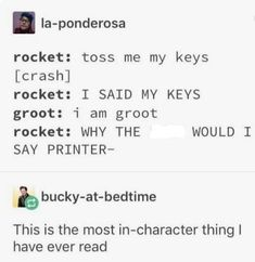It is. The MOST in character thing. For either of em.-It is. The MOST in character thing. For either of em. It is. The MOST in character thing. For either of em. Marvel Jokes, Marvel Comics, Funny Marvel Memes, Dc Memes, Marvel 3, Avengers Memes, The Avengers, All Meme, Loki