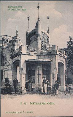 Expo Milan 1906, Distilleria Ogna
