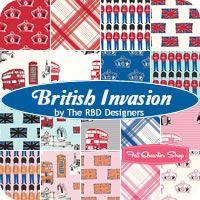 British Invasion Fat Quarter Bundle The RBD Designers for Riley Blake Designs - Fat Quarter Shop