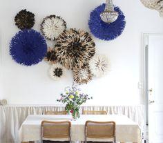 Blue & Natural Juju Hats - Kronbali