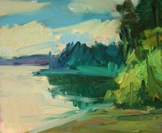 Kathryn Townsend Painting Studio: Zangle Cove