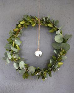 Achtsamkeits-DIY: Eukalyptus Kranz