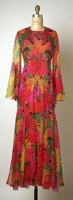 Designer: Karl Lagerfeld (French, born Hamburg, 1938) Date: spring/summer 1993 Culture: French