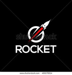Rocket Logo available in vector