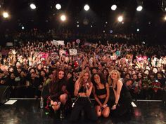Little Mix performing in Japan