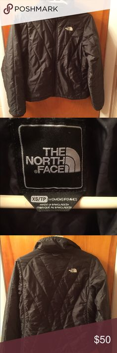 North Face jacket for women. Lightweight. Size XS. North Face jacket for women. Size extra small. Two front pockets. Zips up all the way around the neck. The North Face Jackets & Coats