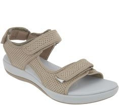 0aab0df1beb CLOUDSTEPPERS by Clarks Adjustable Sport Sandals - Brizo Sammie