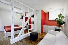 Tiny Studio Apartment Decorating