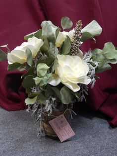 Paper magnolia flower bouquet. made by us!