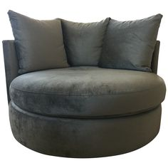 Emerald home furnishings hutton grey plush button tufted for Bellagio button tufted leather brown chaise