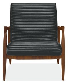 Callan Chair & Ottoman - Modern Recliners & Lounge Chairs - Living - Room & Board