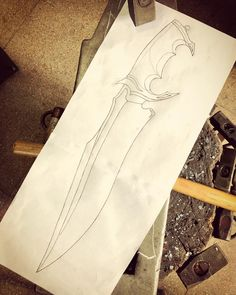 Knife Grinding Jig, Knife Patterns, Anime Character Drawing, Knife Art, Hobby, Knife Making, Bushcraft, Interesting Stuff, Projects For Kids