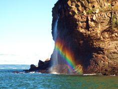 Cape Split Waterfall, Nova Scotia.