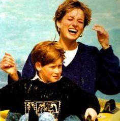 Princess Diana et  family au Thorpe Park - & - 30 avril 1992