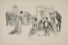 Charles Dana Gibson_The trials of a bud