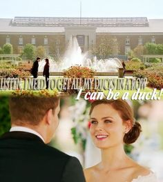 They had the best wedding vows. Bones Tv Series, Bones Tv Show, Booth And Bones, Booth And Brennan, Best Wedding Vows, Tamara Taylor, Bones Quotes, Michaela Conlin, The Woman In White