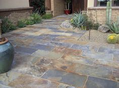 A Floor Like Stone Or Tile Structure Patio Porch Flooring Slate
