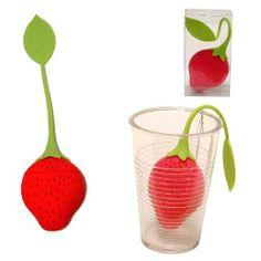 Bolsa de te de silicona para meter las infusiones a granel en el agua caliente.  www.tatamba.com