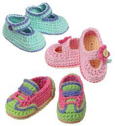 Sophia Grace Collection Crochet Baby Shoes pdf por gourmetcrochet