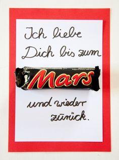 Süße Bastelidee zum Vatertag oder Muttertag. Eine persönliche Muttertagskarte oder Vatertagskarte mit den Kindern basteln. Noch mehr Ideen gibt es auf www.Spaaz.de