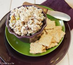 Poppy Seed Chicken Salad -- a great way to use leftover rotisserie chicken or holiday turkey