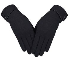 Shop for Women's Screen Gloves Warm Lined Thick Touch Warmer Winter Gloves - Black - Discover the newest styles Women's Cold Weather Gloves up to off. Best Winter Gloves, Warmest Winter Gloves, Gants Vintage, Hand Gloves, Women's Gloves, Gloves Fashion, Fashion Hair, 80s Fashion, Up Dos