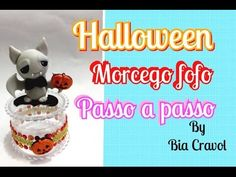 Halloween Bat & Pumpkin Treat Jar Clay Tutorial