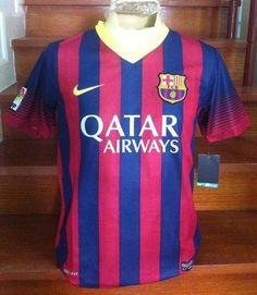 FC Barcelona home kit 2013/14 season ? #fcbarcelona #jersey #20132014