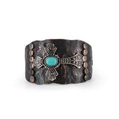 Shyanne® Women's Cross Cuff Bracelet