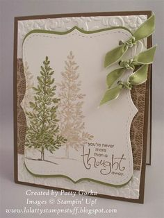 LaLatty Stamp 'N Stuff: Twisted Tuesday ~ Tree & Knots # Pinterest++ for iPad #