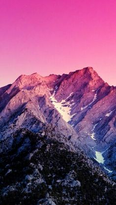 iPhone and Android Wallpapers: Sunset Mountain Wallpaper for iPhone and Android Wallpaper 4k Iphone, Wallpaper Hipster, Iphone Wallpaper Inspirational, Watercolor Wallpaper Iphone, Fall Wallpaper, Locked Wallpaper, Mobile Wallpaper, Cool Backgrounds, Phone Backgrounds