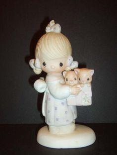 1979 Jonathan & David Enesco Figurine To Thee With Love