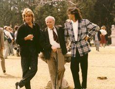 George Michael and Andrew Ridgeley ❤