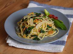 Spaghetti mit Bärlauch, ein raffiniertes Rezept aus der Kategorie Pasta & Nudel. Bewertungen: 106. Durchschnitt: Ø 4,4.