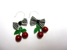 Retro & Rockabilly Jewelry | Rockabilly Jewelry Retro 50's Style Bow & by sweetie2sweetie