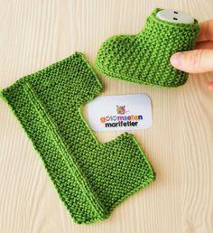 """""""Večer v Alžírsku"""". Baby Booties Knitting Pattern, Booties Crochet, Crochet Shoes, Crochet Baby Booties, Baby Knitting Patterns, Crochet Patterns, Knitting For Kids, Loom Knitting, Knitting Socks"""