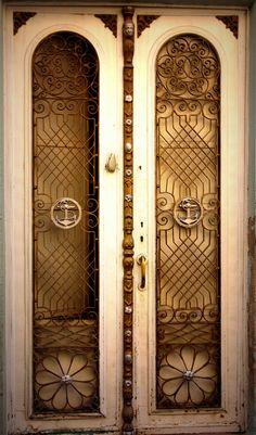 Art Deco Iron Door