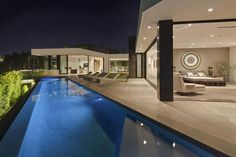 Calvin Klein Drops $25 Million on Bananas Mansion in the Hills - Curbed LA