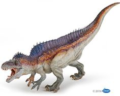 Papo Acrocanthosaurus. This colour variant is being retired in 2018.