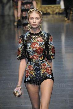 Dolce & Gabbana - Fall / Winter 2012