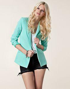 Mint Green Blazer #pavelife #style