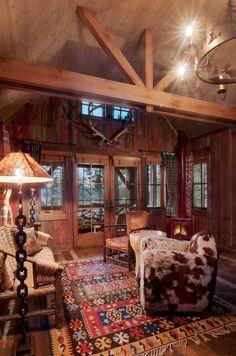 Cabin great room