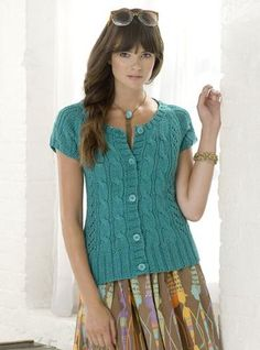 I may knit this next.  Looking for a new project