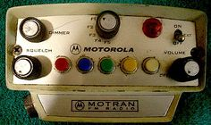 1970's police lights   ... , 42 MHz, NevadaHighway Patrol + Michigan State Police, Mid-1970's