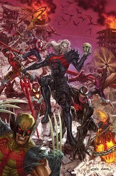 Marvel Comics Art, Marvel Vs, Marvel Heroes, Marvel Characters, Symbiotes Marvel, Venom Movie, Avengers, Arte Obscura, Marvel Wallpaper