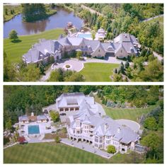 32000 square foot european inspired mega mansion in rochester hills Michigan