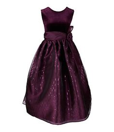 Jayne Copeland 7-10 Sleeveless Plum Dress | Dillard's Mobile
