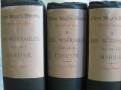 Victor Hugo's Works Featuring Les Miserables by HallsEmporium, $1000.00