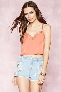 Buy it now. FOREVER21 Women's  Ginger Lace Crop Top. Cami,Lace,Crop top , topcorto, croptops, croptops, croptop, topcrop, topscrops, cropped, bailarina, topbailarina, corto, camisolacorta, topcortoestilobandeau, crop, bralet, strappybralet, bandeautop. Light brown FOREVER21  crop top  for woman.