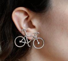 Le Petit Bike Earrings